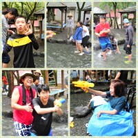 6)水遊び